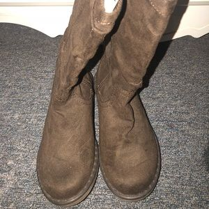 Girls Faux Suede Old Navy Boots Size 1